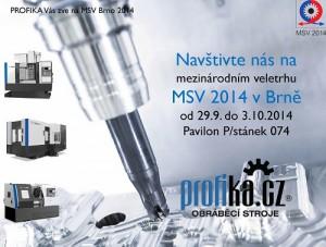 Pozvánka MSV 2014 Brno