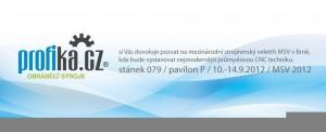 PROFIKA-pozvanka na MSV 2012